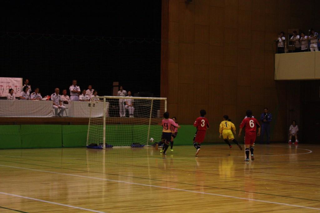 女子決勝:下総等チームのゴール1